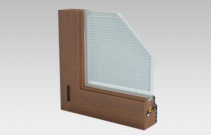 Vacuum insulated glass shutters