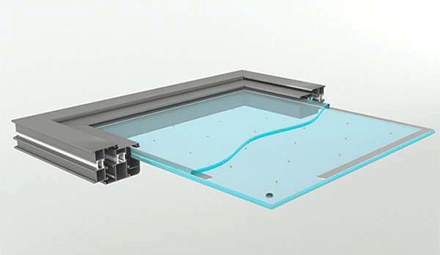 Application of Vacuum Insulated Glass in Military Field