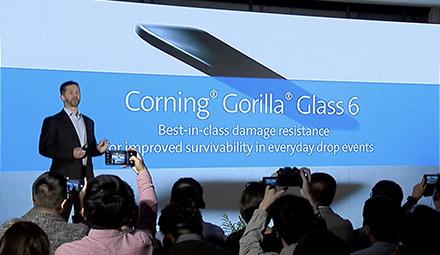 Corning Introduces Corning(R) Gorilla(R) Glass 6