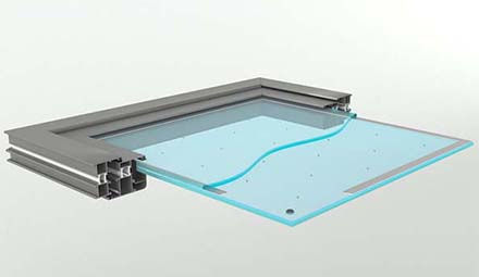 Support spacers for Vacuum Insulated Glass