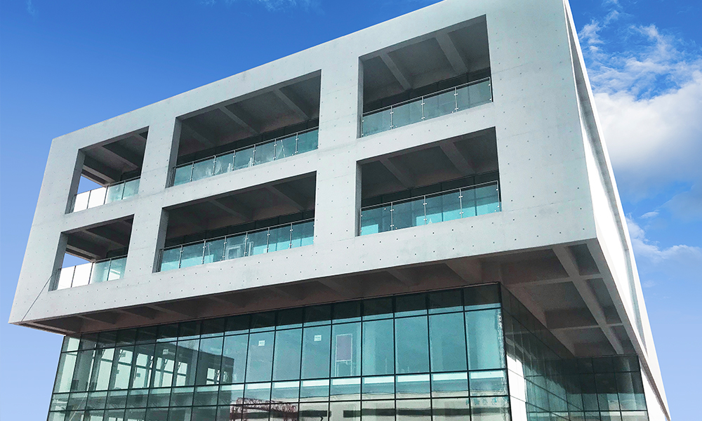 LandVac Vacuum Insulated Glass Used in a R&D Center in Hefei